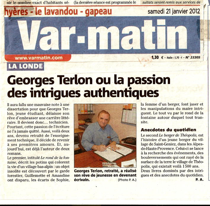 Journal var-matin